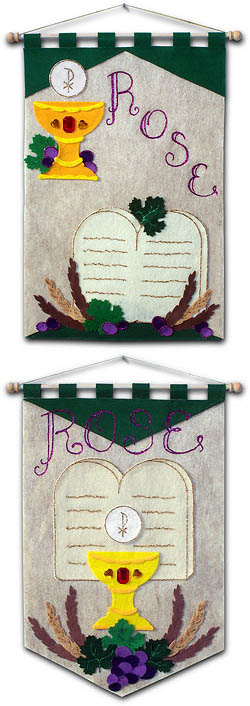 ~ DELUXE ~ - First Communion Banner Kit - Class Pack - 12 in. x 18 in. - <i>10 Commandments</i>