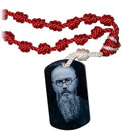 Cord Kit - Dog Tag Chaplet - St. Maximilian Kolbe