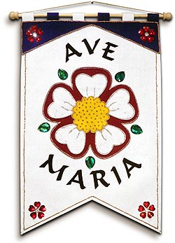 Marian Banner Kit - Mystical Rose