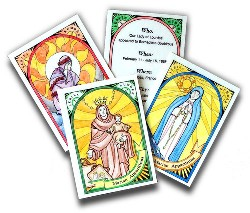 Marian Apparition Trading Cards