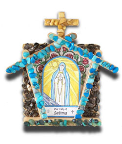 Marian Grotto Kit - Our Lady of Fatima