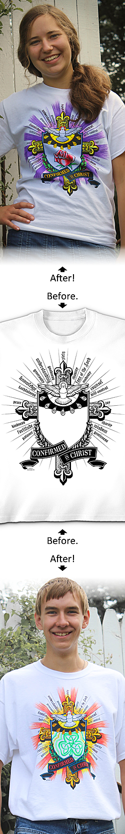 SanctaTee – Confirmed In Christ