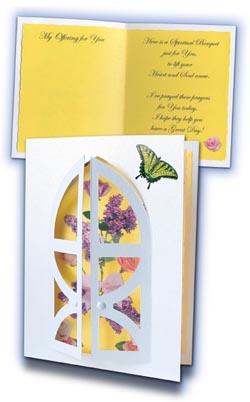 Spiritual Bouquet Card Kit - 4 pack