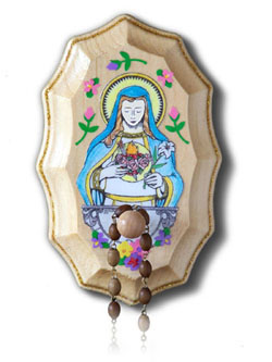 how to make sliding wooden rosary